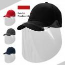 Przyłbica ochronna z czapką