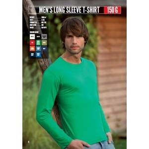 MCL150 Men's Long Sleeve T-Shirt 150 G