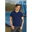 T-Shirt męski  V-Neck 150G navy