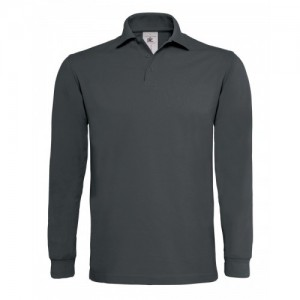 OUTLET B&C Polo Heavymill LSL