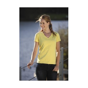 Keya WVS180 T-Shirt damski V-Neck 180G